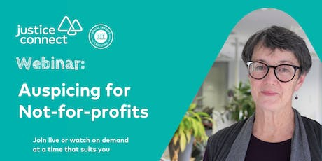 Auspicing for Not-for-profits Webinar tickets