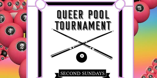 Queer Pool Tournament @ Jolene's every 2nd Sunday