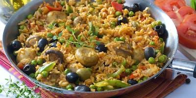 Adult Cooking: VEGAN Spanish Paella