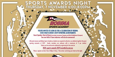 Robina Sports Awards Night 2019