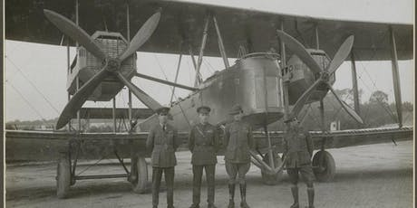 Epic Flight Centenary - Visit the Vickers Vimy at Adelaide Airport Tue 1pm tickets