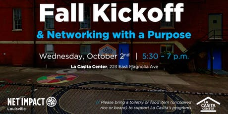 Fall Kickoff & Networking with a Purpose tickets