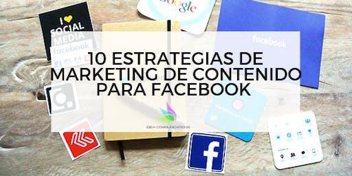 10 estrategias de marketing de contenido para Facebook