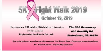 Statesboro District No. 18 5K Fight Walk 2019