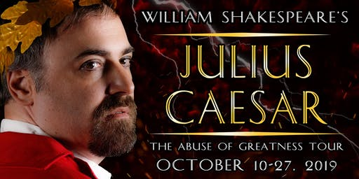 Closing Night Shakespeareance - Julius Caesar at The VTC Cabaret