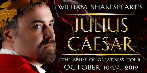Closing Night Shakespeareance - Julius Caesar at The VTC Cabaret