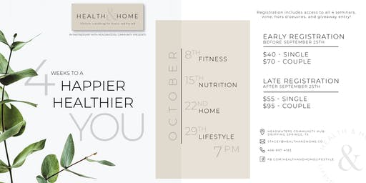 Health & Home: 4 Weeks to a Happier, Healthier You