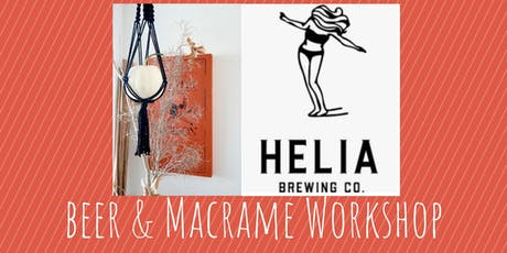 Macrame Pumpkin Hang Workshop at Helia Brewing Co. tickets
