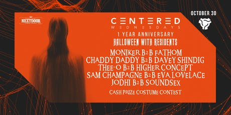 Centered Wednesdays 1 Year Anniversary (3 Events Package)  tickets