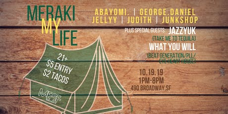 Meraki My Life (Day Party) tickets
