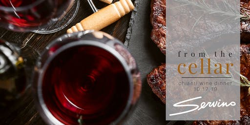 from the cellar: Chianti wine dinner