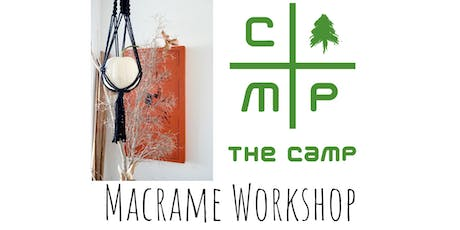 Macrame Pumpkin Hang Workshop at The Treehouse in The Camp  tickets