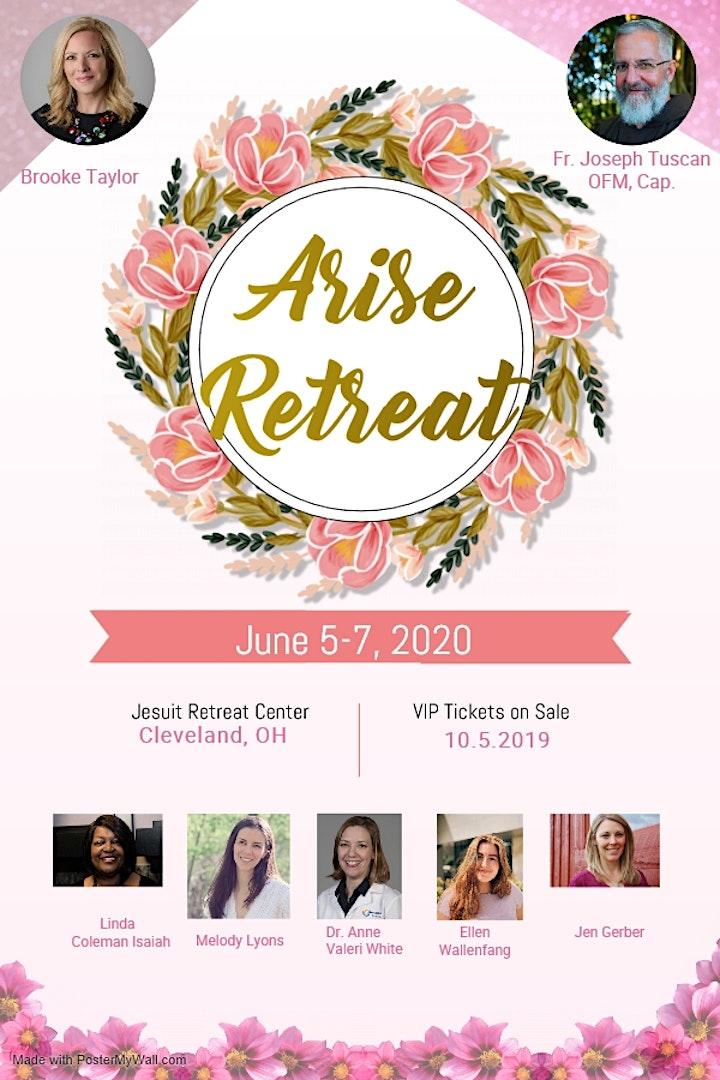 Arise 2021: Catholic  Women's Retreat image