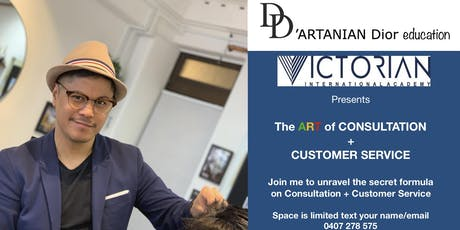 The Art of Consultation and Customer Service by D'Artanian Dior Education tickets