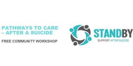 PATHWAYS TO CARE – AFTER A SUICIDE tickets