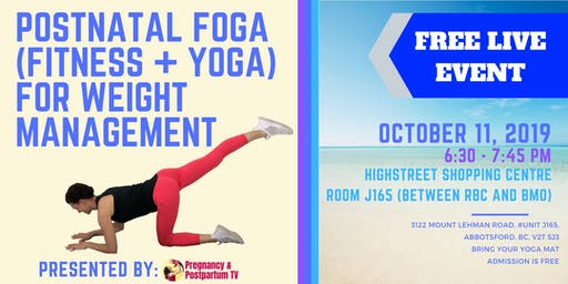 Postpartum Yoga For Weight Management + Weight Strategies Mini-Session
