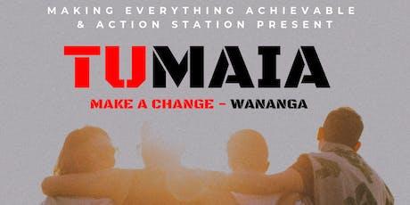 Tumaia - Rangatahi into Leadership Wananga tickets