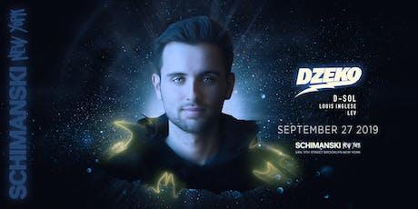 Dzeko and D-Sol tickets