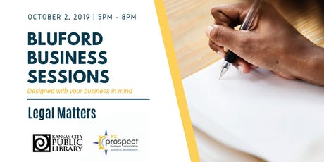 Bluford Business Sessions: Legal Matters tickets
