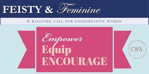 Feisty and Feminine