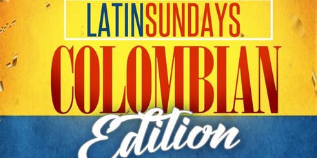 Latin Sundays l Colombian Party! tickets