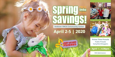 Prime Time Shopping Ticket $10 | JBF Andover/Blaine Spring 2020