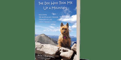Rick Crandall in Aspen at Explore Booksellers
