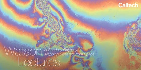 A Geodesy Odyssey: Mapping Disasters from Space tickets