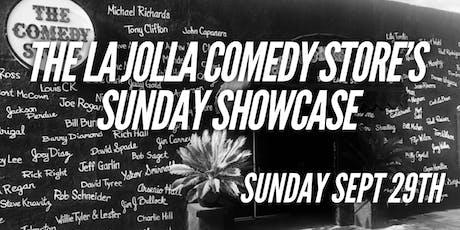 Sunday Showcase tickets
