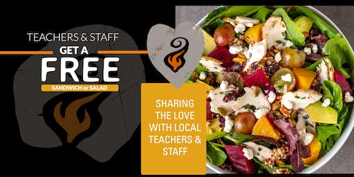 Sharing the Love With Bakersfield Teachers