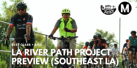 BEST Class + Ride: LA River Path Project Preview (Southeast LA) tickets