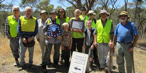 20 year celebration for the Friends of Sturt Gorge