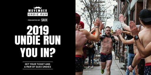 Movember Undie Run presented by SAXX - Toronto