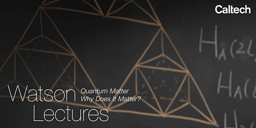 Quantum Matter, Why Does it Matter?