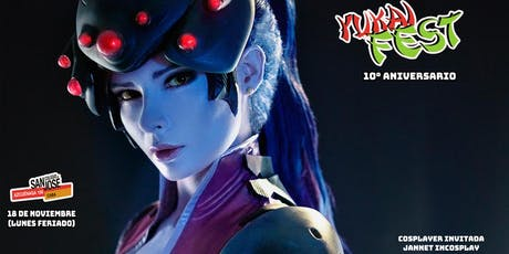 Yukai Fest 10° Aniversario con Jannet Incosplay entradas