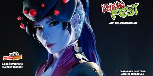 Yukai Fest 10° Aniversario con Jannet Incosplay