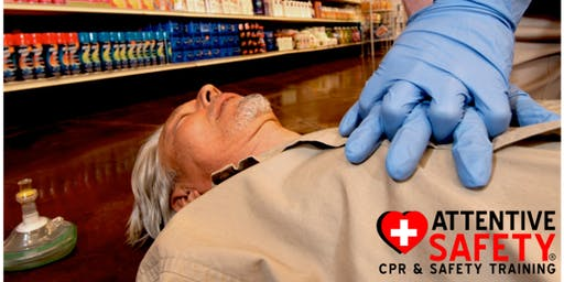 CPR AED Training (Adult, Child, and Infant) $65- Same Day Certification