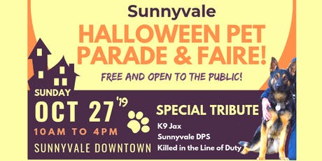 Sunnyvale Jax Memorial Pet Parade tickets