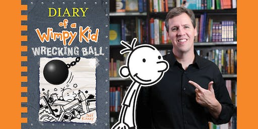 The Bookworm Presents-Diary of a Wimpy Kid: The Wrecking Ball Show SOLD OUT