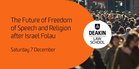 The Future of Freedom of Speech and Religion after Israel Folau  tickets
