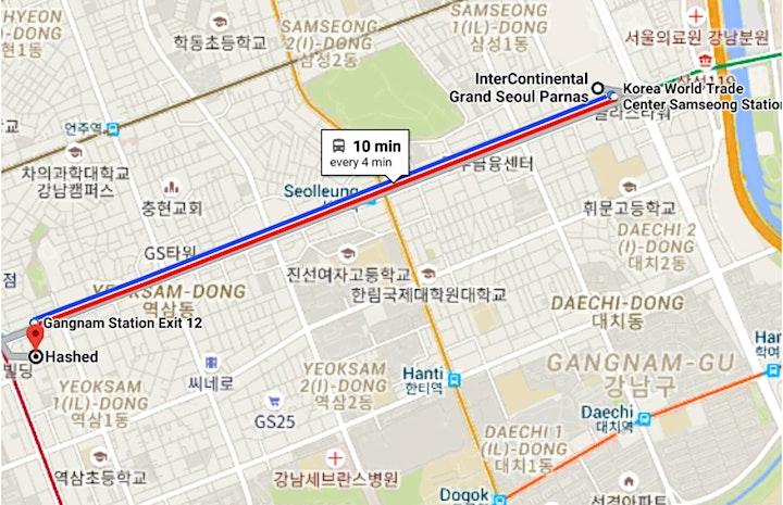"""Game & Blockchain Meetup"" for Korea Blockchain Week 2019 image"