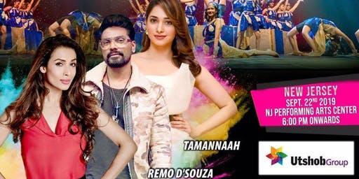 RRANG Broadway Style Bollywood Musical' with Malaika, Tamannah, Remo in NJ