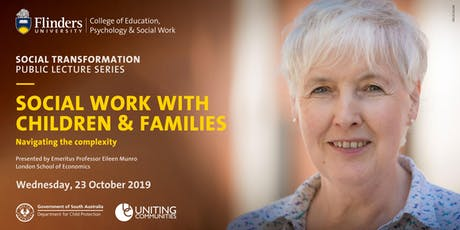 Social work with children and families:  Navigating the complexity tickets