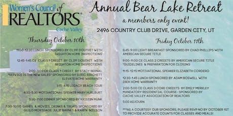 Annual Bear Lake Retreat tickets