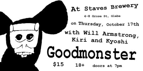 Goodmonster and friends at Staves Brewery tickets