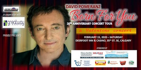 "David Pomeranz ""Born For You"" 20th Anniversary Concert Tour tickets"