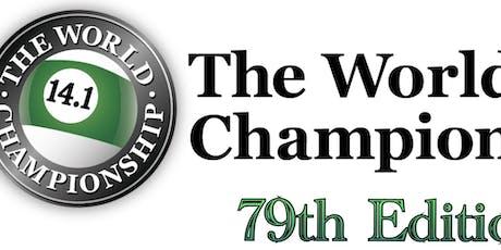 79th World Straight Pool Championship tickets