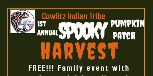 1st Annual Cowlitz Indian Tribe presents: Spooky Harvest