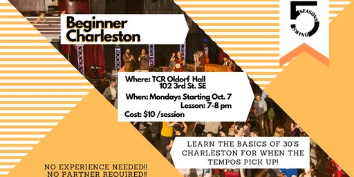 Beginner Charleston -  Lindy Hop Classes