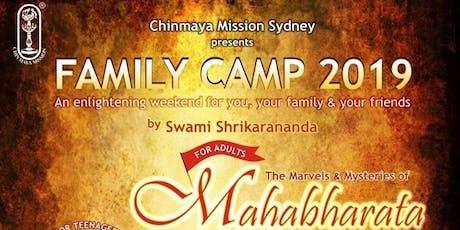 "Family Camp 2019 ""The Marvels & Mysteries of Mahabarata"" tickets"